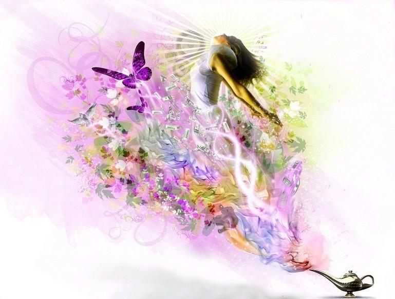 Открытка нежности и волшебства, спасибо марта